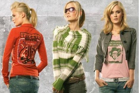 Подростковая женская мода