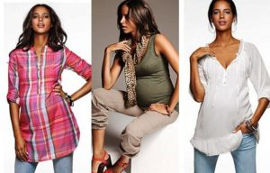 Беременность для моды не преграда!