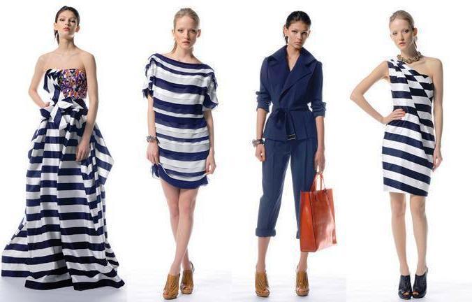Новинки одежды в морском стиле