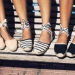Обувь в морском стиле