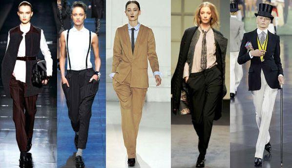 980a5776c6b Мужской стиль в женской одежде. Девушка в мужской одежде – стиль или ...