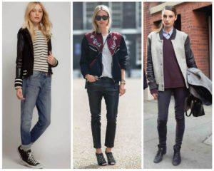 Мужской стиль в женской одежде