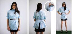 Как можно использовать мужскую рубашку в женском гардеробе