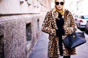 Оригинальный леопардовый стиль