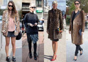 Леопардовый стиль одежды