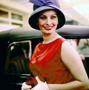 Яркая и страстная Софи Лорен - икона стиля ретро 60-х