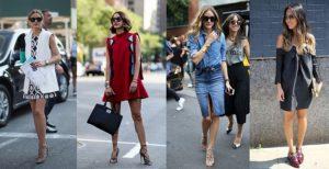 Уличный стиль летом - простота и легкость одежды
