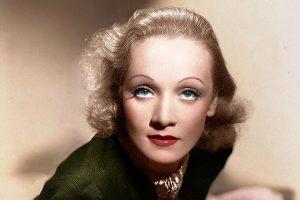 В своем образе Марлен Дитрих всегда предпочитала яркий макияж