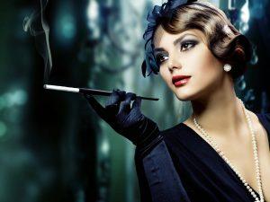 «Женщина вамп» - желанная, неприступная, строптива, с загадкой в глазах и надменностью