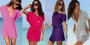 Платье для пляжного отдыха найдется в каждом гардеробе