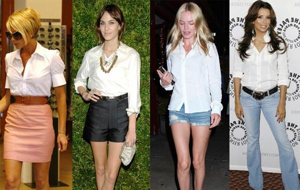 Белая рубашка - воплощение классического французского шика