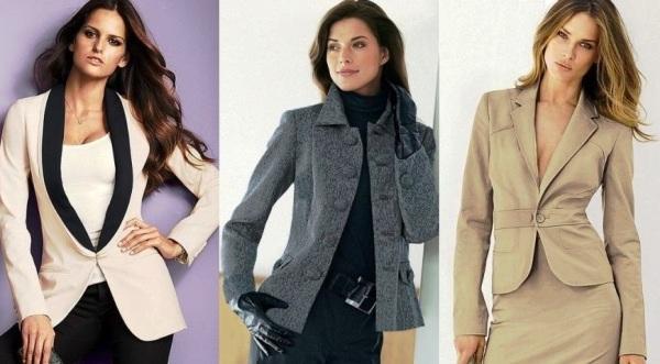 Пиджаки хороши в различных вариациях во французском стиле
