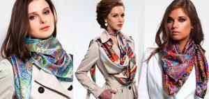 Легкие струящиеся шарфики долго будут в тренде
