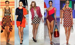 Строгая геометрия в гардеробе - еще одна модная тенденция