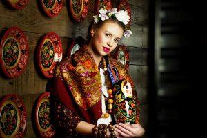 Русское народное направление в этническом стиле