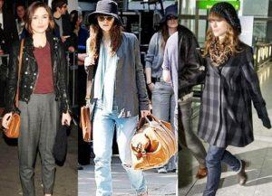 Кира Найтли - одна из многих звезд, выбравшая стиль гранж в одежде