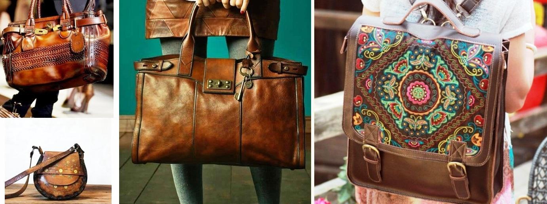 Стиль бохо сумки аксессуары