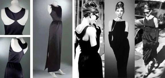 Одри Хепберн и знаменитое маленькое черное платье от Коко Шанель