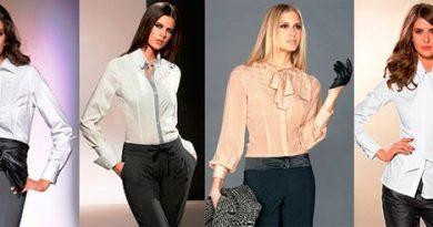 Блузка деловой стиль