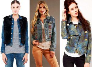 Куртка, пиджак из джинсовой ткани – основа джинсового стиля