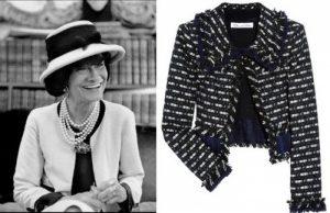 В 20 веке благодаря Коко Шанель кардиганы вошли в женскую моду