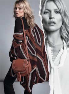 Кейт Мосс больше всего любит под объемными кофтами и свитерами прятать свою утонченную фигуру