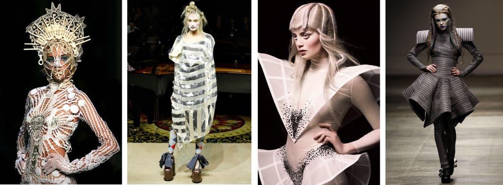 Фантастический фасон, драпировка и эксклюзивный крой, приближает образ к авангардному стилю