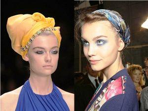 Яркие платки и повязки на голову - отличительные черты африканского стиля