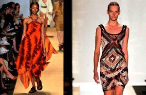 Яркие сочетания и контрастная игра в повседневной одежде – основные показательные черты африканской моды