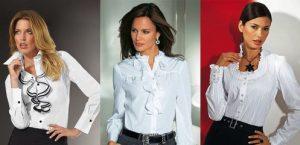 Блузки в стиле Шанель сочетают комфорт и элементы классической моды