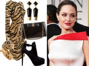 Драматический стиль характерен для таких звезд, как  Анджелина Джоли