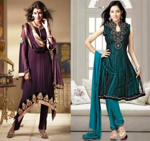 Цвета нарядов в индийском стиле всегда применяются сочные и яркие