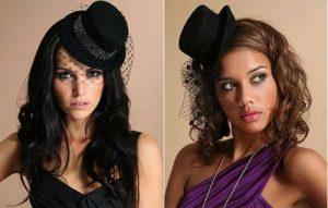 Шляпка с маленькой вуалью - один из элементов винтажного образа