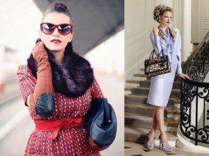 Одежду в винтажном стиле нужно правильно носить