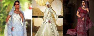Восточный стиль настолько стал популярен, что даже одежда для свадебных церемоний пользуется спросом у женщин