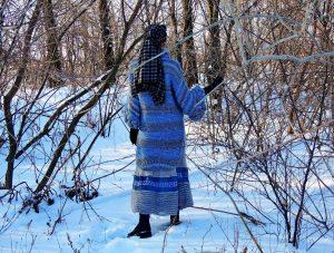 Самые интересные модели пальто бохо для зимы – вязаные вручную