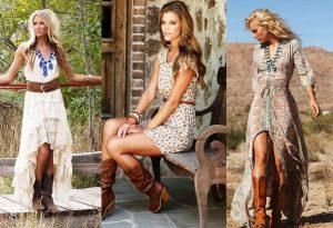 Деревенский стиль в одежде позволяет фантазировать