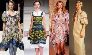 Деревенский стиль в одежде с наступлением лета приобретает невероятную популярность