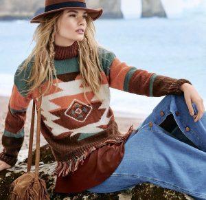 Джемпер в стиле бохо еще одна модная деталь чтобы преобразиться в этом сезоне