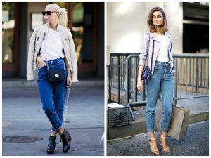 Укороченный вариант джинсов - бойфрендов это самая универсальная модель