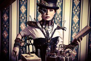 Одежда в стиле стимпанк держит марку именно за счет деталей и аксессуаров