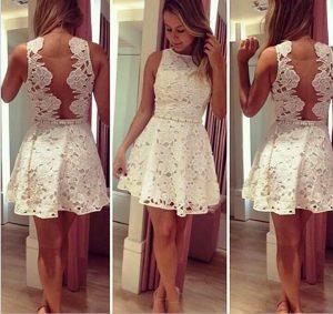 Знайте, что только кружевное платье белого цвета гарантирует создание идеального образа, независимо от мероприятия
