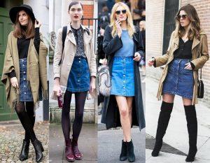 Не во всех случаях короткая джинсовая юбка уместна