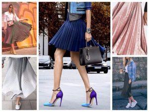 И на прогулку, и на шопинг, и на вечеринку - плиссированная юбка прекрасный выбор