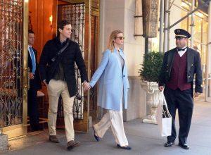 Иванка Трамп носит брюки свободного кроя