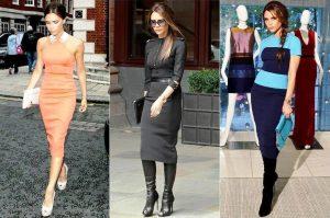 Виктория Бекхем использует аксессуары только известных брендов из последних коллекций, которые делают ее образ роскошным