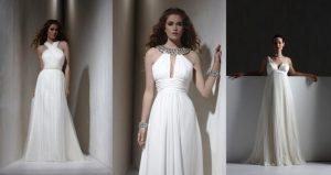 Обладательницы греческого наряда всегда чувствуют себя на высоте, он раскроет полностью образ очарования и романтичности