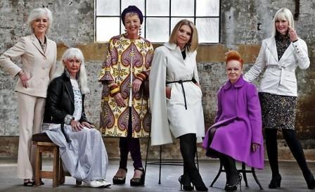 женщины в возрасте которые не гонятся за модой но отличаются собственным стилем