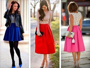 Оригинальный дизайн юбки с формой колокольчик помогает находить свежие образы