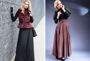 Длинная шерстяная юбка непременно должна стать частью вашего гардероба!